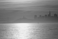 San Francisco Dawn 2 - Black and White