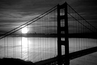 San Francisco Awakens - Black and White