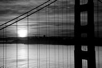 Wake Up San Francisco - Black and White Version