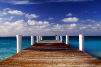 Grace Bay Beach Pier